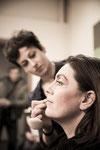 Isa al trucco - © Daniela Domestici 2015