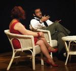 Pupa (Lorella Rebeschi) e Federico (Giuseppe Di Rocco) - foto: © Alessandro Bordin