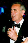 Charles AZNAVOUR - Festival de Cannes 1992 - Photo © Anik COUBLE