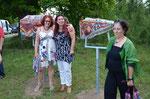 Gerda, Tanja und ich
