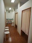 第1診察室、第2診察室入り口