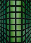 """""""Gitter 5""""  Öl auf Leinwand  50x70    2017    #17005"""