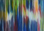 """""""Lichtvorhang""""  Öl auf Leinwand  70x50    2016    #16014"""