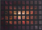 """""""Gitter 2""""  Öl auf Leinwand  70x50    2016    #16017  Nicht mehr verfügbar"""