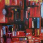 """Container2""  Öl auf Leinwand  100x100  2021  #21001"