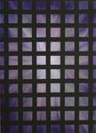 """""""Gitter 3""""  Öl auf Leinwand  50x70    2017  #17002"""
