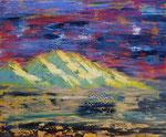 """""""Mountain"""" Öl auf Leinwand  50x60xx2019  #19007"""