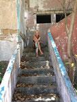 Ilha de Santa Carolina - eine verlassene Insel, die früher mal der Anziehungspunkt der Reichen und Schönen war ... mit eigenem Flugplatz