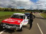 Unvergesslich ... Haldenhof-Revival 2011 Gesamtsieg. Mit dem phantastischen Rallye-Opel-Ascona (Bj. 1967) und Co-Pilotin Karin Krüger.