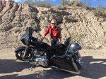 Mit Wolfgang Fierek von Scottsdale/Phoenix nach Las Vegas. Insgesamt 4000 Kilometer und ich hatte eine dicke, tolle Street Glide.