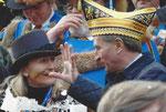 Fasnet in Allensbach -  100-jähriges Jubiläum 2008 mit Günther Oettinger