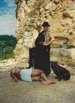"""""""Nur ein toter Mann ist ein guter Mann"""" - zu meinem Buchtitel 1997 eindrücklich dargestellt ..."""