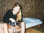 Im Zululand - damals - etwa 1980 - noch als Reisejournalistin.