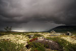 Unwetter, bei Nysæter, Fokstumyra / Uvær, ved Nysæter, Fokstumyra