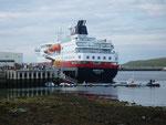 """Nuestro"" Hurtigruten en Hammerfest"