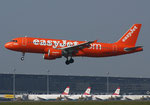 EasyJet Airline **** A 320-214 **** G-EZUI  (200th Airbus Livery)