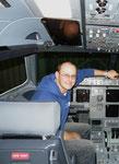Im Cockpit einer A 321-200 - Austrian Airlines