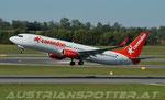 Corendon Airlines Europe **** B 737-FH(WL) **** 9H-TJB