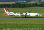 LOT-Polish Airlines **** Bombardier DHC-8-402Q Dash 8 **** SP-EQE (Podkarpackie Travel Livery)