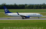 Bluebird Airlines **** B 737-85F(WL) **** 9H-HLY