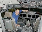 Im Cockpit einer B 737-800 - Austrian Airlines