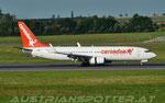 Coredon Airlines **** B 737-8BK(WL) **** OM-GTH(Leased from Go2Sky)