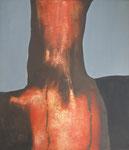 Torse brulé, 1964 (huile sur toile, 97 x 122 cm, coll. part. GR)