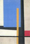 Sans titre, env. 1960, ( huile, 65 x 50 cm, coll. part.)