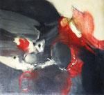 Acouchement (huile sur toile, 107 x 93.5 cm, coll. part. GR)