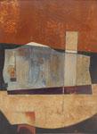 Abstraite, projet de fresque pour une gare, env. 1960  (huile sur isorel, 53,7 x 71,2 cm, coll. part. G.L)