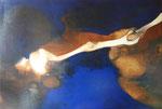 Le doigt de Dieu, 1965 (huile sur toile, 95 x 140 cm, coll. part. GR)