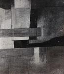 Géométrique (huile, 85 x 85 cm, coll. part.)