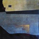 Abstraite bleue, env. 1960 (huile, coll. part. HMC)