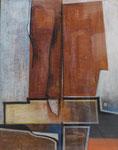 Abstraite, env. 1960 (pastel, 65 x 50 cm., coll. part. FK)