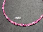 Edelsteinkette,Turmalin,Turmalincollier,rosa,pink