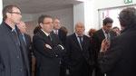 Inauguration de la Maison du Projet Carré de Soie