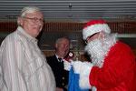 der Weihnachtsmann an Bord