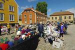 Flohmarkt auf dem Kongens Torv (königlicher Marktplatz)