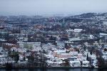 am nächsten Morgen sind wir in Trondheim...