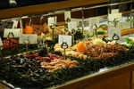 am Abend - leckeres Meeresfrüchtebuffet