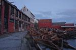 die alte Mellem Werft von 1865 in Kristiansund