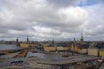 Stockholm vom Gondolen aus gesehen