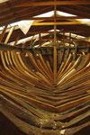 ein altes Schiff wird restauriert