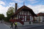 altes Haus in der Nähe der Gurtenbahnstation