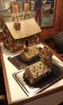 unsere Pfefferkuchenhäuser (die zwei kleinen)