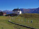 die kleine Kirche von Bettmeralp