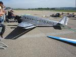 Grossmodell Ju-52, 6.09m Spannw., 100kg