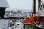 Am Hafen von Kiberg