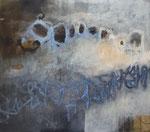 Mischtechnik auf Leinwand, 88 x 100 cm