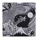 「 回帰 」 素材アクリル・他/木製パネル  30×30×2cm